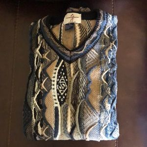 Coogi inspired XL sweater vintage